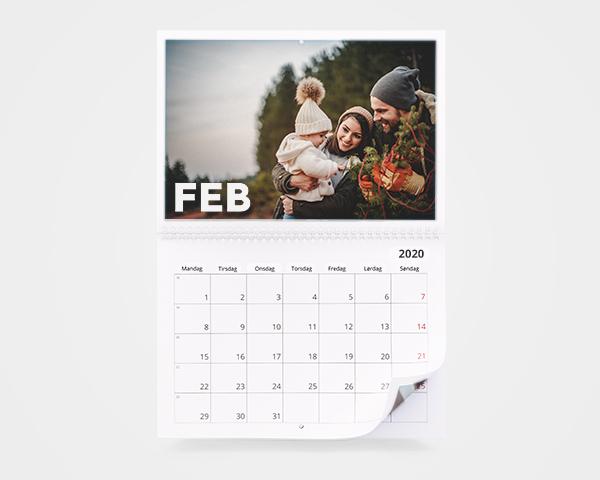 Fotokalender 2021 » Månedskalender med bilder | FotoKnudsen