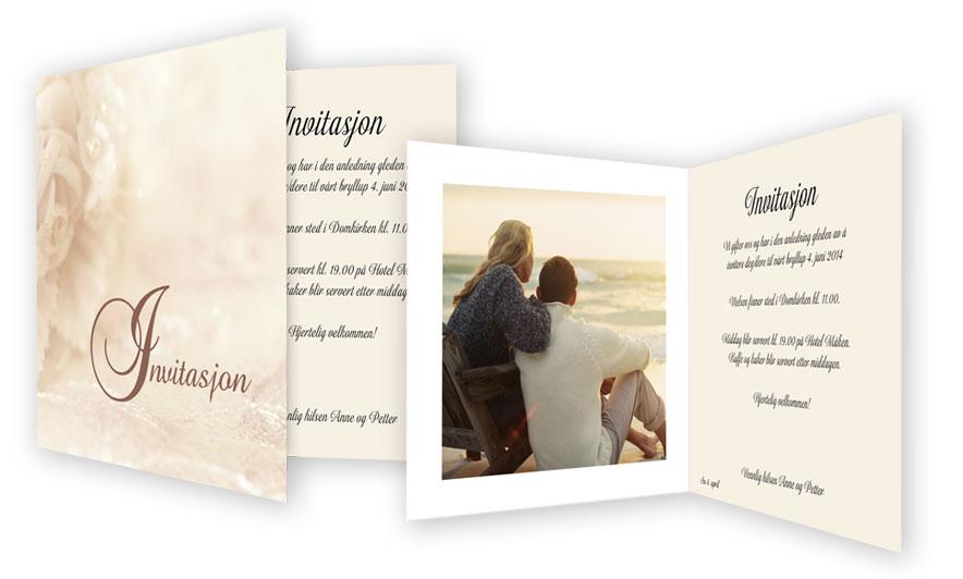 9ca6629e Lag personlige invitasjoner til bryllupet   fotoknudsen